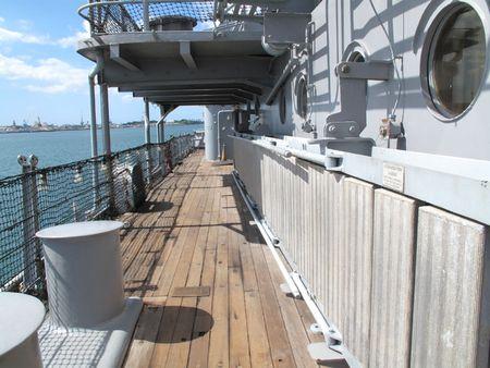 Warship - WWII photo