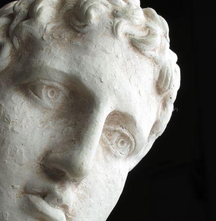 Greek philosopher -  sad, deep, and enlighted photo