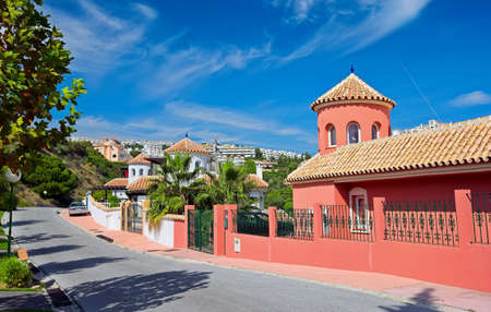 a bathing place: A photo of a luxury house in Spain (Costa Del Sol)