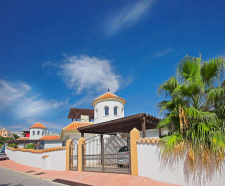 sol: A photo of a luxury house in Spain (Costa Del Sol)