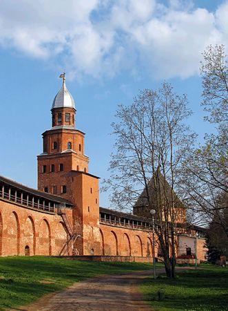 Novgorod citadel 2 Stock Photo - 602956