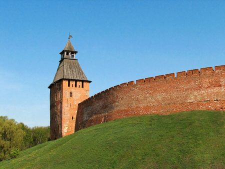 Novgorod citadel 3 Stock Photo - 602931