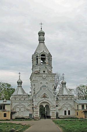 novgorod: Novgorod temple Stock Photo