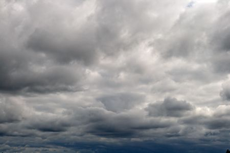 Sky with dark clouds before a thunderstorm Stock Photo - 3872238