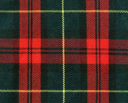 gaelic: Close-up of traditional scottish checked material