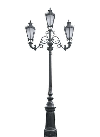 An isolated photo of an old street lamppost Stock Photo - 5477652