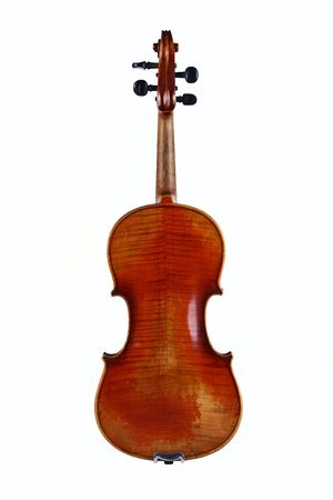The full violin is a classical string musical instrument. photo