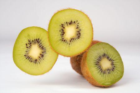 kiwifruit: kiwi-fruit exotic Stock Photo