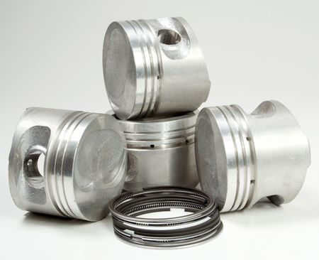 Sale of spare parts for the automobile it is favourable business Stock Photo