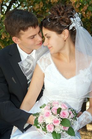 fidelity: Day of wedding the most solemn and unforgettable in a life of each person
