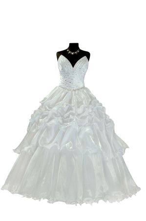 especially: Each wedding dress is especially beautiful and unusual