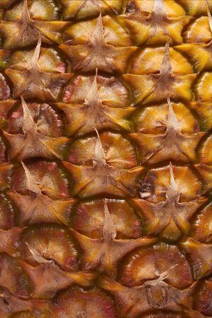 Una textura de la piña madura fondo Foto de archivo - 4902924