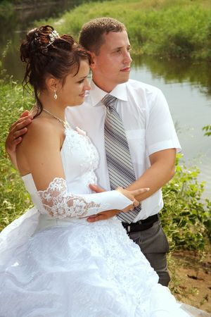Day of wedding the most solemn and unforgettable in a life of each person. Stock Photo - 5235556