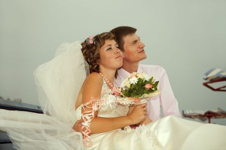 Day of wedding the most solemn and unforgettable in a life of each person. Stock Photo - 5303379