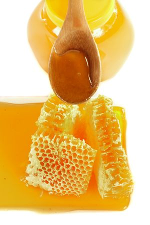 curative: Honeycomb with natural  honey