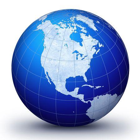 World globe - world illustration.World. Globe. World-globe