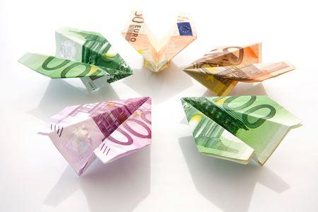 banconote euro: Gli aerei di euro