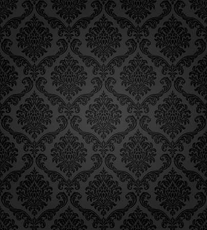 barocco: Seamless pattern damascato