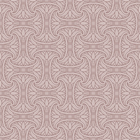 Seamless Egyptian pattern Vector