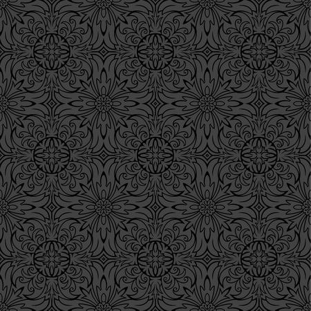 Seamless ornamental pattern  Illustration