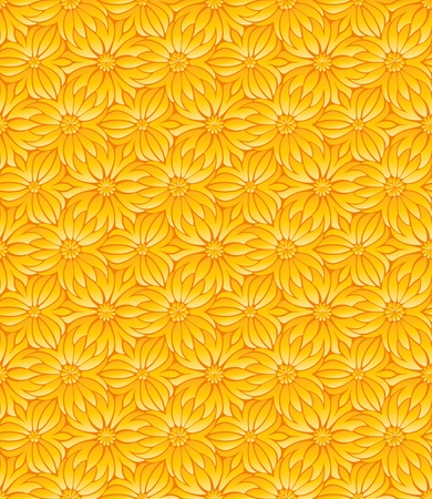 Seamless flower pattern Stock Vector - 11028760