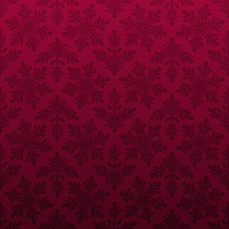 Seamless snowflake pattern