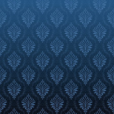 tileable: Seamless Damask Wallpaper