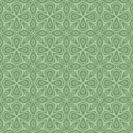 Seamless ornamental flower pattern Illustration