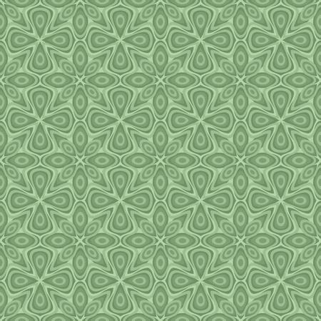 Seamless ornamental flower pattern Illustration