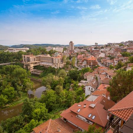 veliko: Veliko tarnovo town in Bulgaria Stock Photo