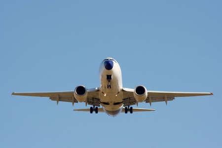 jetplane: Fronte di un aereo commerciale