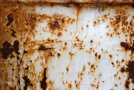 Very rusty old metal surface Stock Photo - 941260