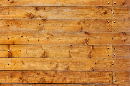 carpentery: Wood texture with horizontal lines Stock Photo