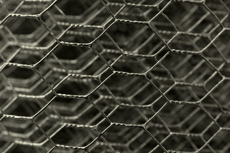 Grey metal wireframe in layers Stock Photo - 1397063