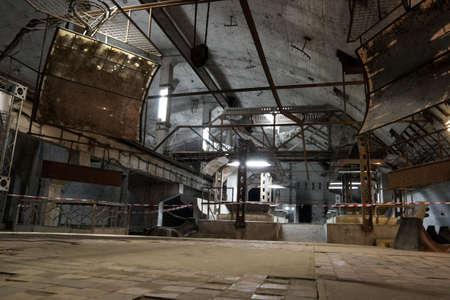 abandoned warehouse: Former soviet underground submarine base in Balaklava