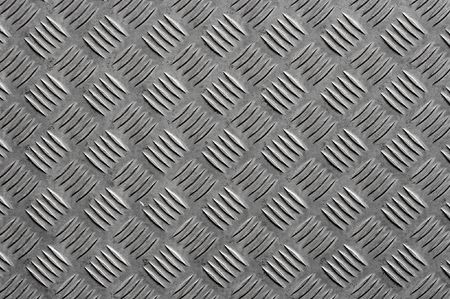 bumpy: Grey metal surface with a bumpy pattern Stock Photo