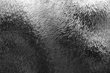 bumpy: Bumpy texture of a glass surface