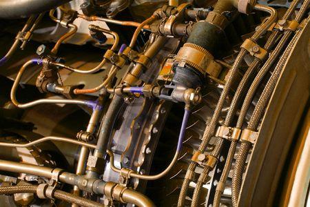 jetplane: Parti interne di un motore di jetplane