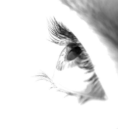 Highkey image of an eye Stock Photo - 2677888