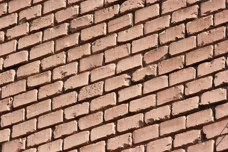 Simple old brick wall photo