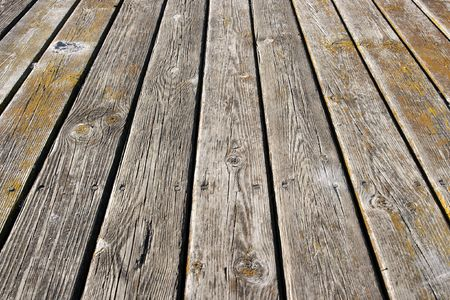 Rough lumber texture of a pier Stock Photo - 2678025