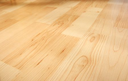 Bright parquet background