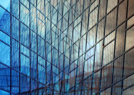 Abstract office building background photo
