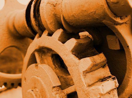copysapce: Cogwheels in a machinery
