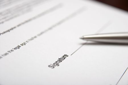 Contract and penm shallow DoF photo