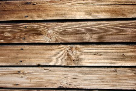 Wood texture with  horizontal lumbers photo