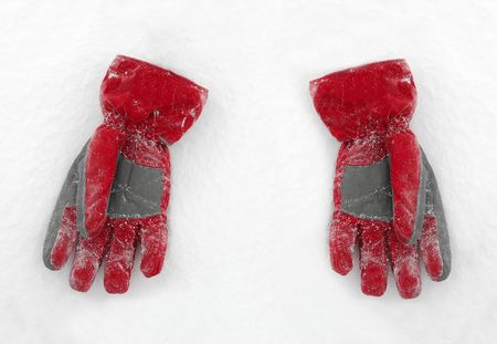 seasonic: A pair of red glows on the snow