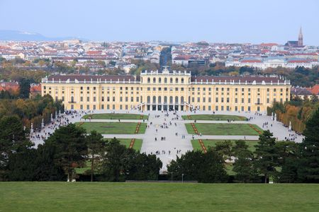 nbrunn: Vienna, Schonburnn palace and garden
