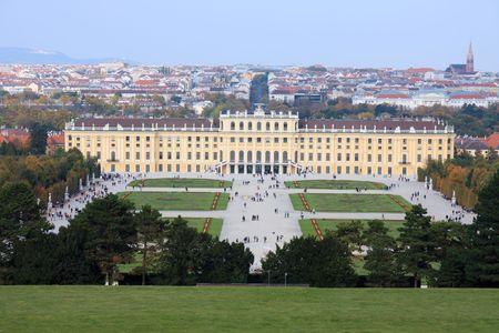 Vienne, Schonburnn Palais et le jardin