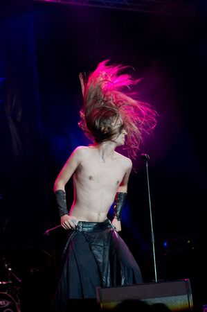 Finntoll liva at Masters of Rock festival 2007 Stock Photo - 6890677